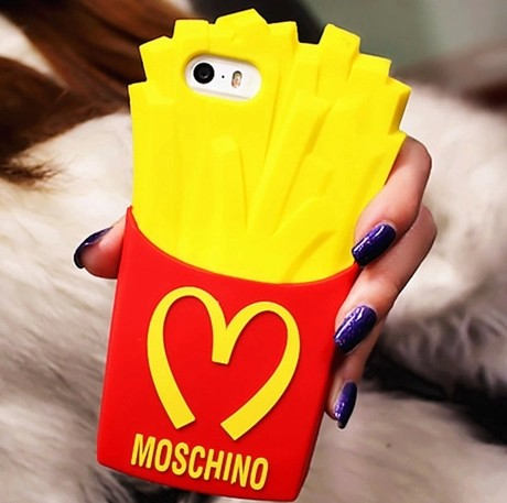 Apple чехол MOSCHINO Iphone5s 5C 4S
