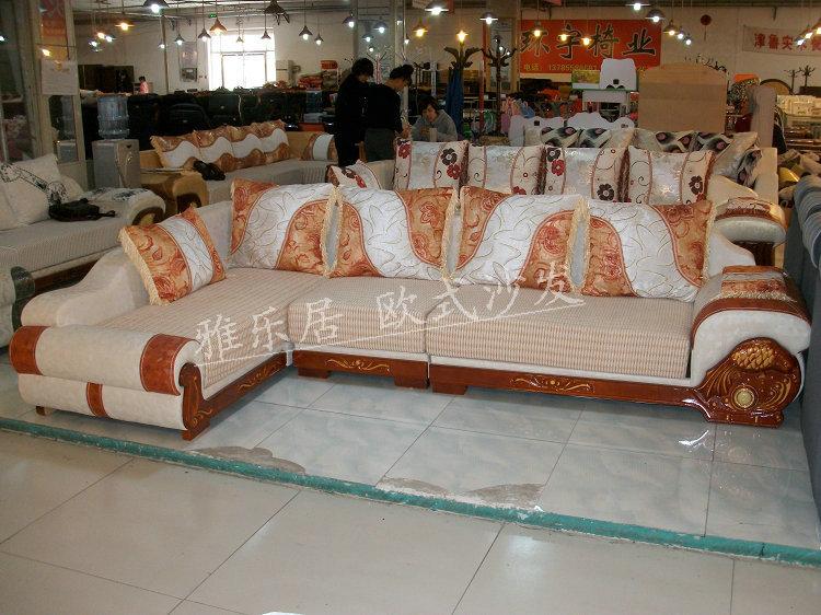 Кожаный диван Недорого прямой Biggie континентального классический диван ткань диван диван диван yxj мелкое, 8