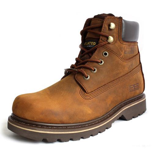 Ботинки мужские Pathfinder wm5621 PF Для отдыха Круглый носок Верхний слой из натуральной кожи Кожа дикой лошади Зима