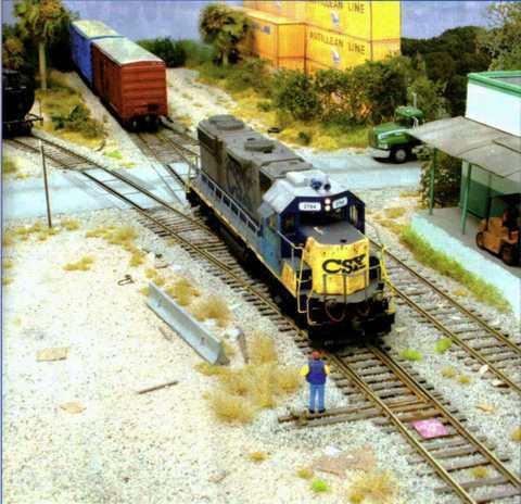 Железная дорога на электро-, радиоуправлении Настройка модели поездов