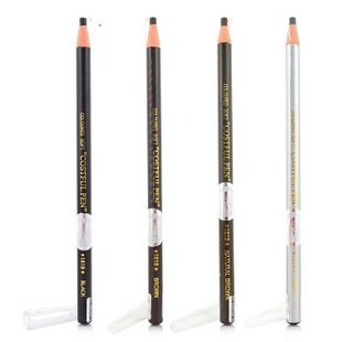 Recommended makeup special beautiful said Japan 1818 drawing pencil eyebrow pencil eyeliner with dual security 4-color