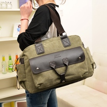 Han edition men's and women's general and sacred retro canvas bag shoulder hand his recreation bag bag bag mail