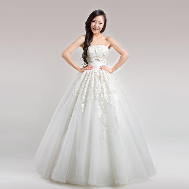 Свадебное платье j1039 Другие материалы Принцесса с кринолином Принцесса