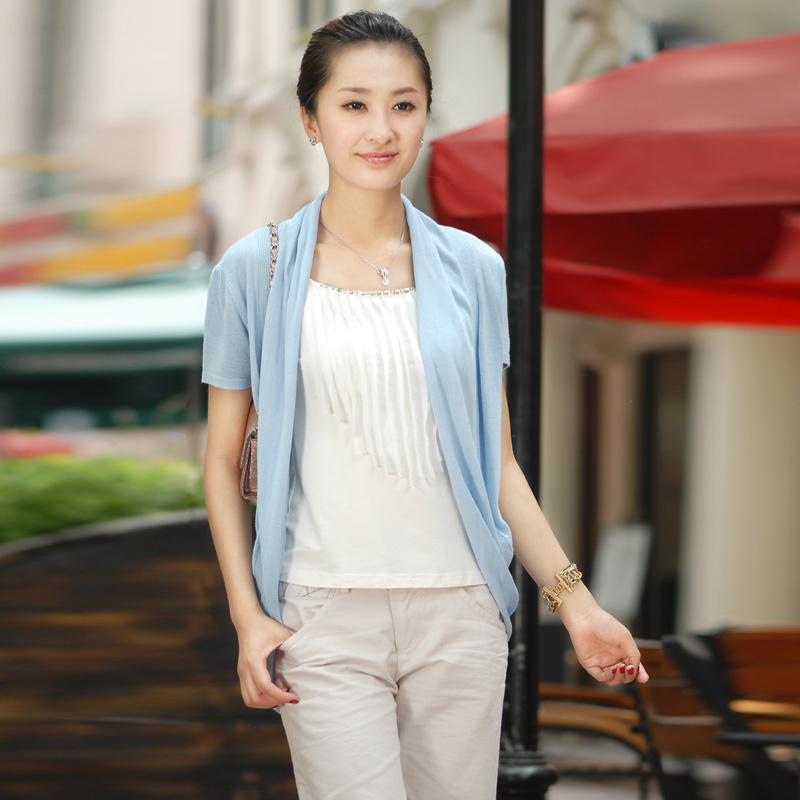 开衫短袖女装夏季