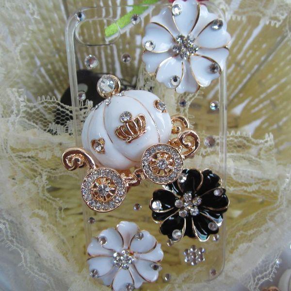Набор для изготовления украшений Iphone4 4S тыквы вставить алмаз мобильный телефон продуктов оболочки