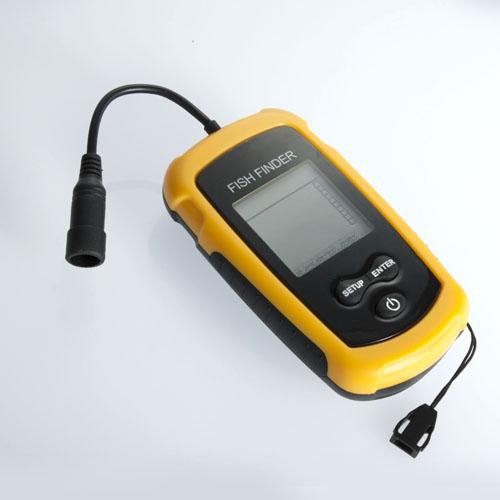 100m Portable Sensor Sonar Fish Finder Fishfinder Beam Alarm
