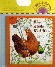 The Little Red Hen (Book and CD) [Audio CD] 小红母鸡 汪培珽