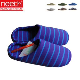 NEETH new Japanese slippers couple cotton slippers slippers soft bottom shoes at home home slippers