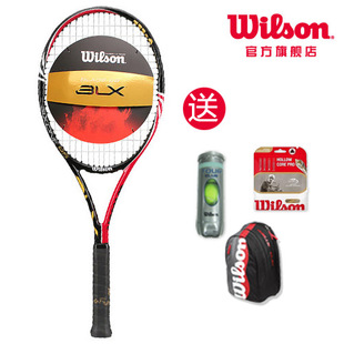 [50 percent free] Wilson/nCode BLX Six.One 95 tennis racquets genuine T7019