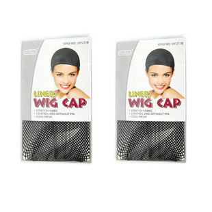 Black hair screen high quality matching packages made by  two-pass wigs both sell wig accessories