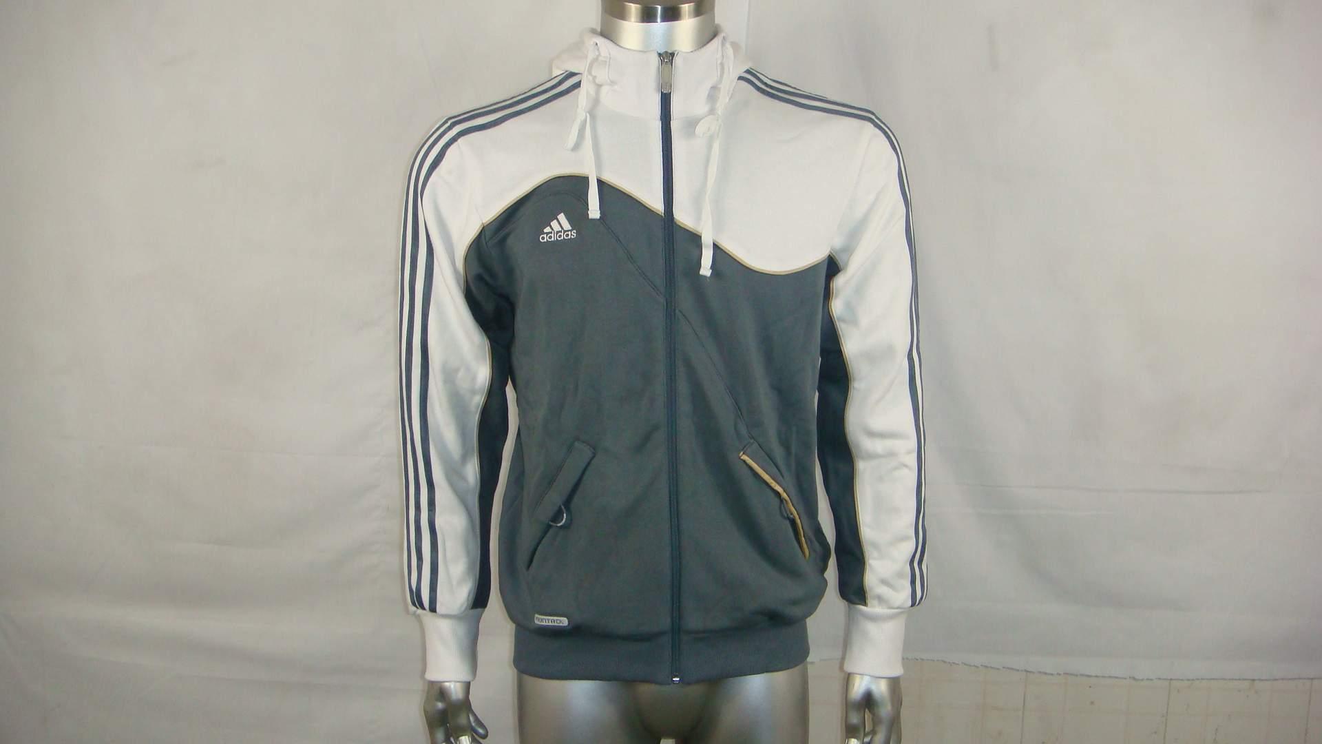 Куртка, Спортивный костюм Аутентичные скидка Адидас adidas Мужская случайный куртка с капюшоном экс все отели акции