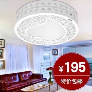 Fashion simple acrylic modern ceiling light romantic garden bedroom lighting ideas living room lighting A919