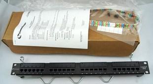 康普 UNP510-24P 超5类24口非屏蔽配线架 原装康普配线架 总代货
