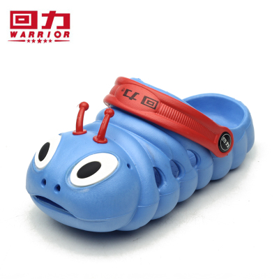Warrior cute new summer children's shoes caterpillar shoes hole shoes sandals dual rafting sandals slippers