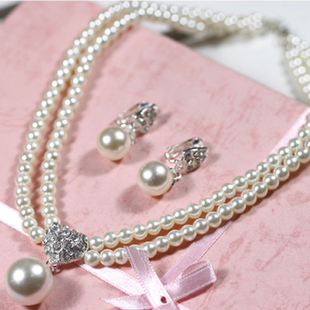 Angel wedding dress bridal jewelry accessories wedding sets chain necklace wedding dress wedding jewelry headdress 6784