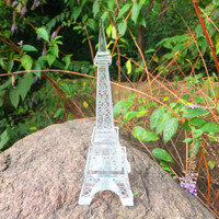 水晶工艺品 法国巴黎埃菲尔铁塔摆饰模型 家居装饰 生日礼物