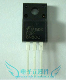 原装现货FQPF8N80C 参数800v 1550mO8A 59W 封装TO-220F