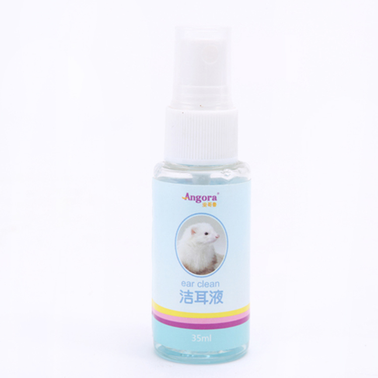 An Gelu ferrets pet nail supplies-cleaning ear ear mites killing disease prevention clearing ear wax ear wash 35ml
