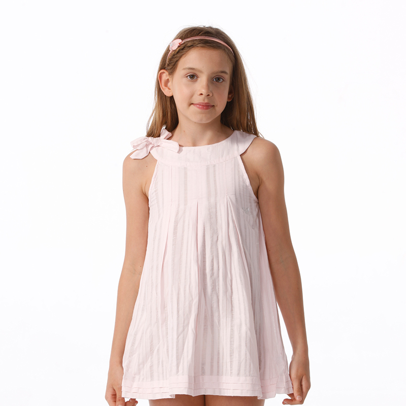 детское платье Viv & Lul ls13517 А-образная юбка Лето Хлопок (95 и выше) Однотонный цвет % Женственнный