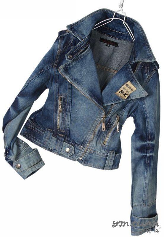 Короткая куртка 8025 2012 YX8025 Повседневный Облегающий покрой Обычная Длинный рукав Классический рукав Молния Однотонный цвет Короткая (40 см<длина одежды≤50 см)