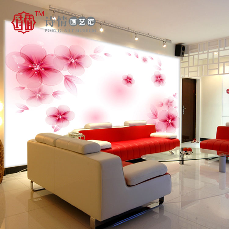 中式书法毛笔字画壁纸 书房客厅卧室电视背景墙纸 娜拉诺拉