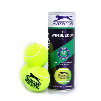 Top tennis game with genuine counter Slazenger Slazenger tennis cans purple dress three