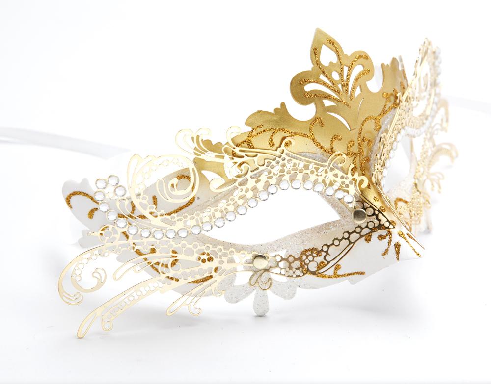 Маска карнавальная Металлический маски бутик красоты Венеции выпускного вечера принцессы маска половину благородных партии маска маска