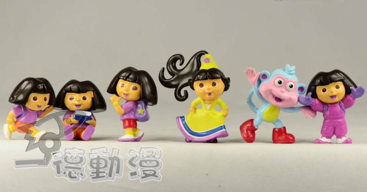 Персонаж из мультфильма Guangzhou, a German cartoon  Dora The Explorer6
