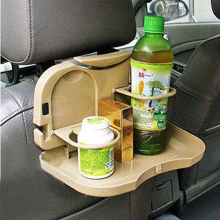 Friends of car owners car folding small table water Cup drink holder car bracket glass shelf