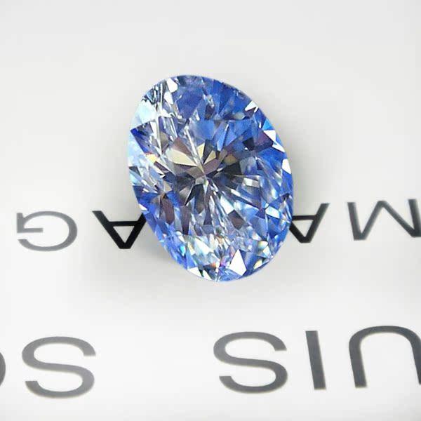 精品裸钻 钻石  椭圆形0.83克拉  VS2/D色   S210712757
