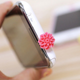 Full 9 9 1637 daisy butterfly knot Dustproof plug iphone4 the dust plugs cellphone dustproof plug