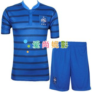 12-13 France national team football clothes sportswear suits men's soccer clothing training services children's ball clothing