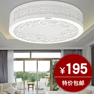 Fashion simple acrylic modern ceiling light romantic garden bedroom lighting ideas living room lighting A901