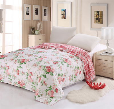 Cotton twill cotton 220 * 240 active pastoral single or double cotton quilt single 1.5 single piece Specials
