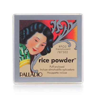 US counter genuine Palladio rice loose powder hold oil control powder puff 17g with bare makeup concealer
