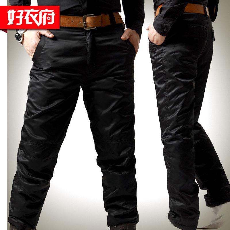 Утепленные штаны Good clothes House 2012 Полиэстер 50 -69% белый утиный пух % Верхняя одежда