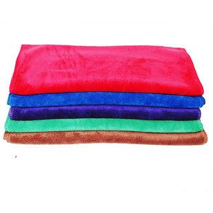 汽车加厚磨绒毛巾洗车打蜡擦车巾居家清洁用品60*160