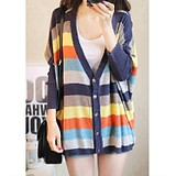 taobao english 2013 spring new Korean wild big yards bat sleeve sweater cardigan women thin coat of excellent silk and good clothes