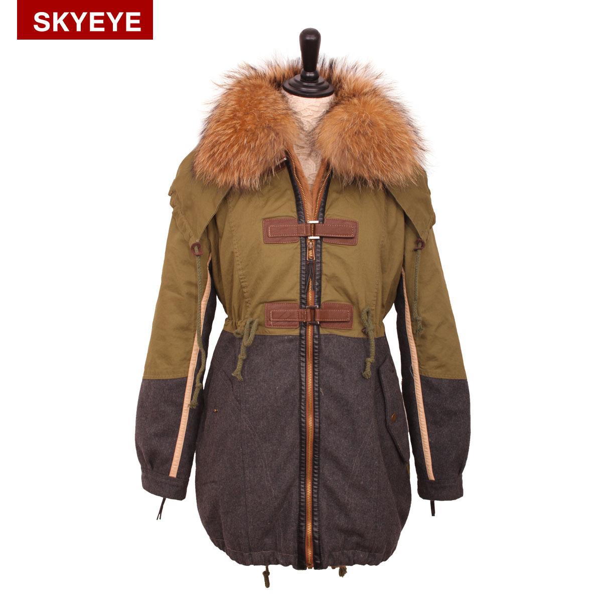 Женская утепленная куртка Eye of Heaven 097 Облегающий покрой Длинный рукав Зима 2012
