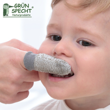 German imports neonatal mouth-guard toothbrush The baby's mouth clean finger cot Natural antiseptic baby teeth brush