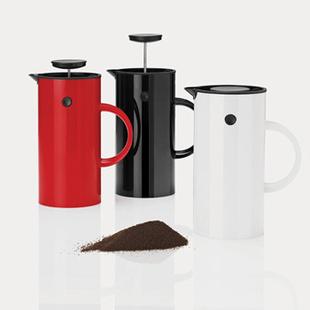 emo 丹麦 Stelton 啄木鸟过滤咖啡壶
