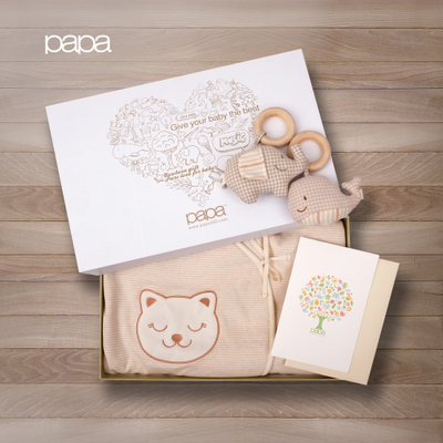 papa thick organic cotton baby was newborn supplies gift boxes 0-3 years old baby sleeping bag baby