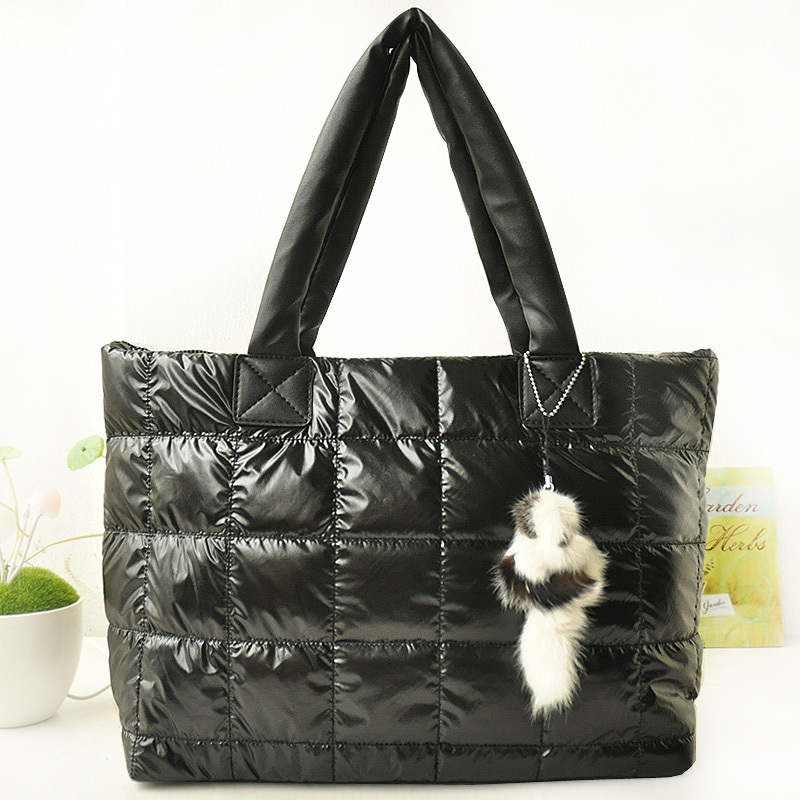 Waterproof jacket fashion fabric shoulder bag 