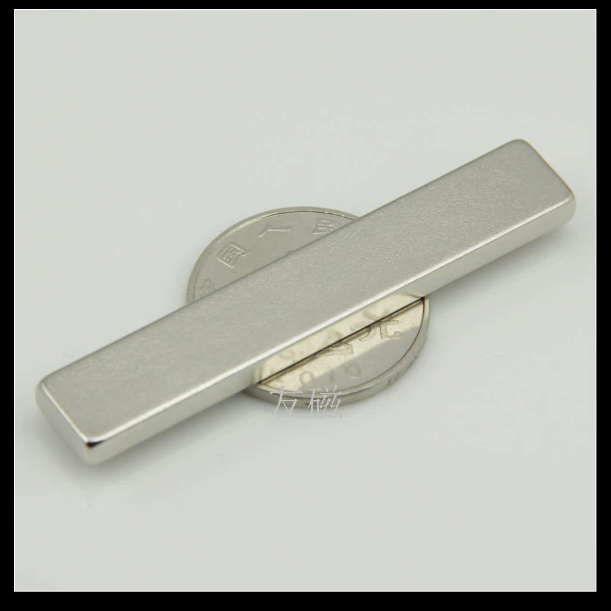 Магнитные компоненты Постоянный магнетизм Wang NdFeB редкоземельных магнит сильной Магнитные прямоугольник магнит f60x10x4mm