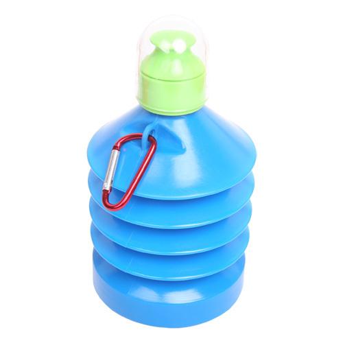 环保便捷式折叠伸缩水壶 水壶能屈能伸