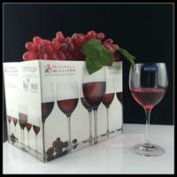 促销包邮波兰·克罗斯诺 进口无铅高脚水晶杯 红葡萄酒杯350ml