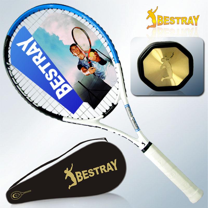 网球拍 正品 初学Bestray百斯锐V高级碳素复合特价 电话防伪