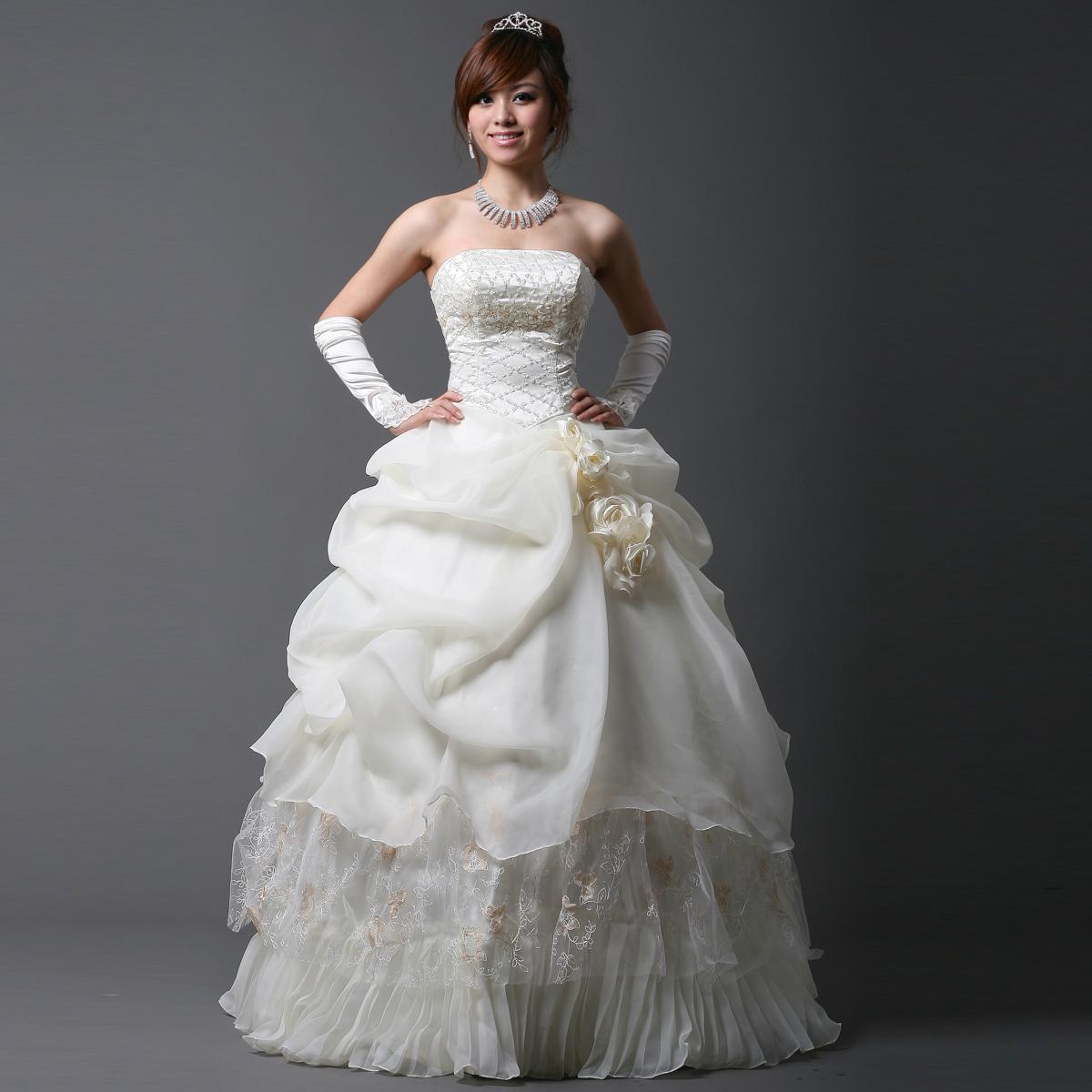 Свадебное платье Love this life hunsha/27 Органза Принцесса с кринолином