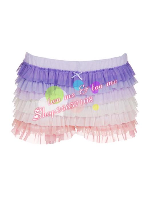 Женские брюки Gelato пике оригинальный 10 новых торт красочные градиент сетки шорты Шорты, мини-шорты Другая форма брюк Набивка из шёлковой нити