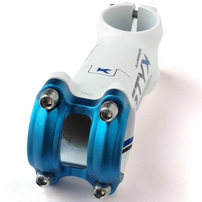 UNO STYX 31.8/28.6 mm to 7 degrees 100 long and 141 g extinction white/blue cover